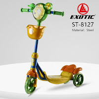 skuter anak exotic st8127 otopet kids scooter