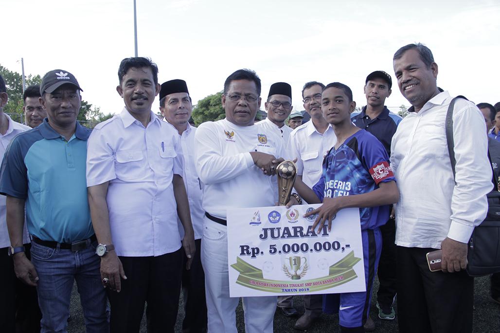 Smpn 3 Banda Aceh Juara Gala Siswa Indonesia Haba Nusantara