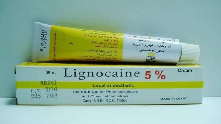سعر ودواعي استعمال دواء لجنوكايين Lignocaine مخدر موضعي