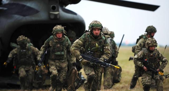 لندن تتوقع خسارة الجيش البريطاني في حالة نشوب الحرب مع روسيا