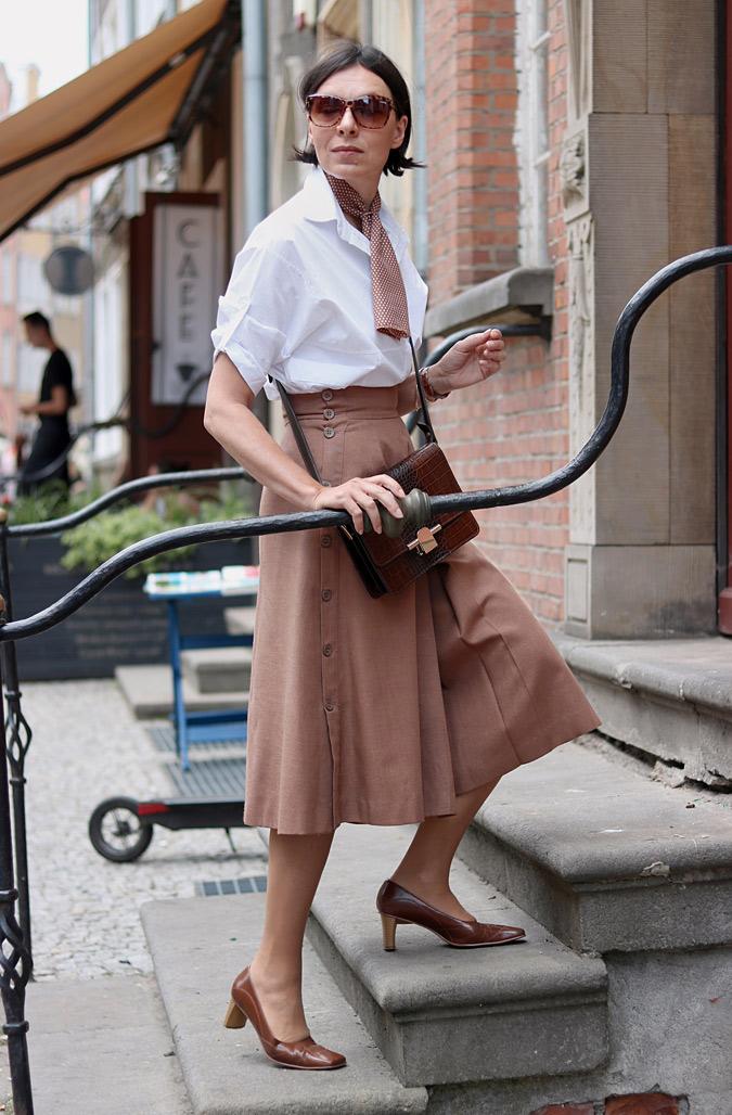 Spódnico-spodnie stylizacje