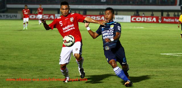 Hasil Score Persib Bandung VS Bali United