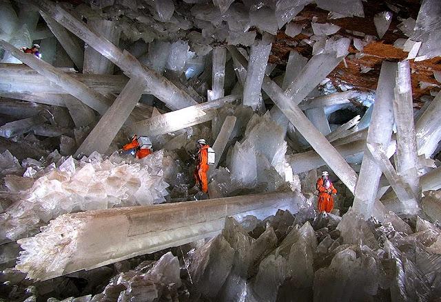 7 Naica Mine, Mexico