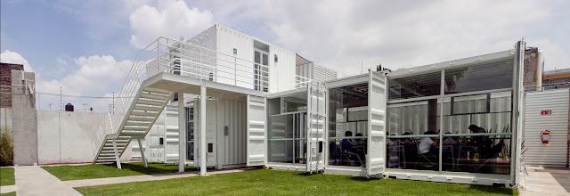 La Secundaria Valladolid - Modular Shipping Container School, Mexico 8