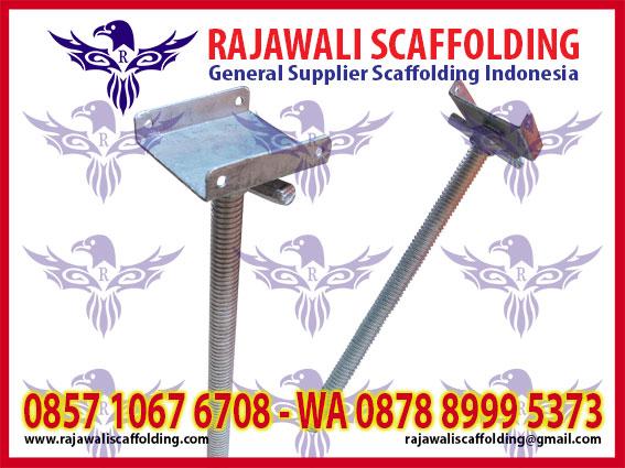 jual u head scaffolding