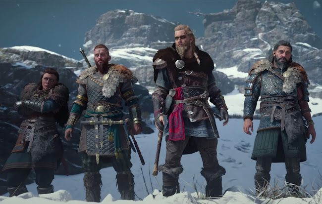 Assassin's Creed Valhalla other character snapshot
