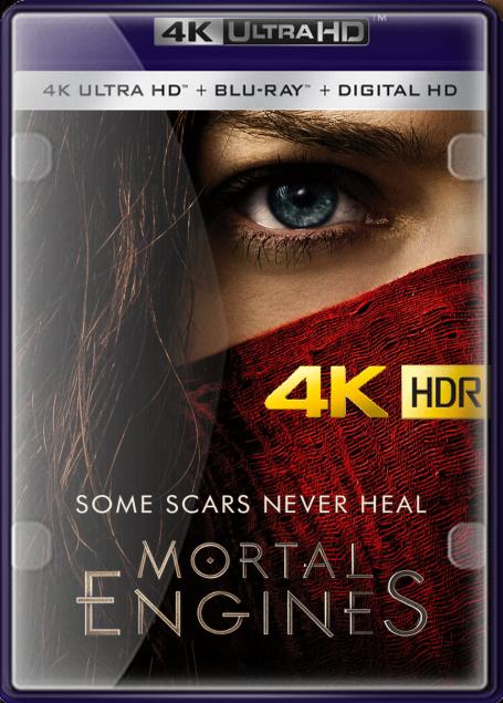 Máquinas Mortales (2018) 4K UHD HDR LATINO/INGLES