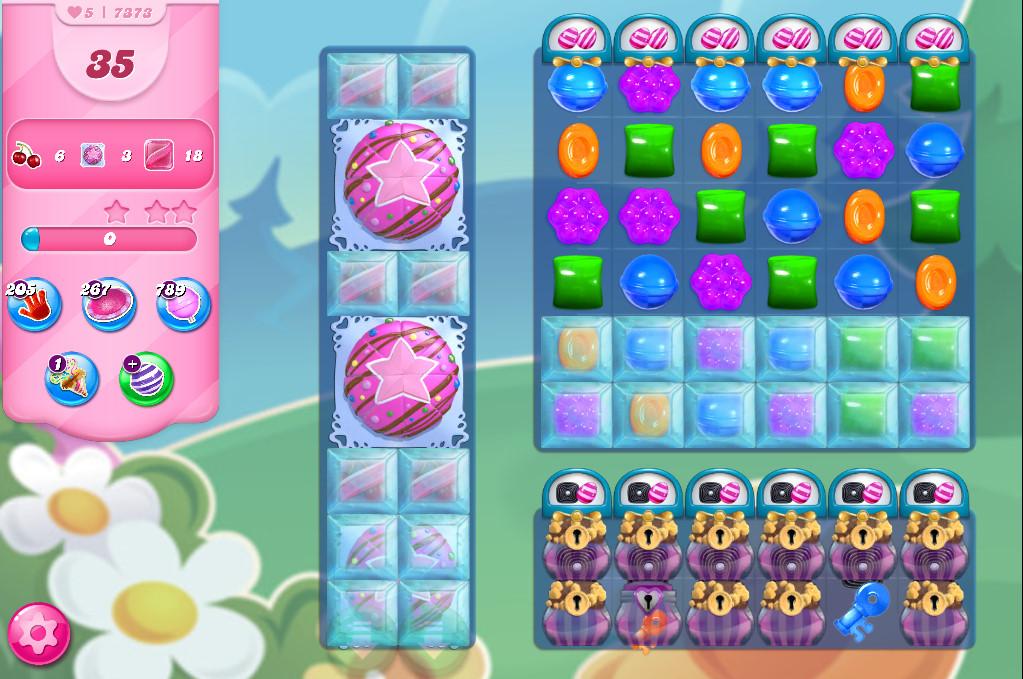 Candy Crush Saga level 7373