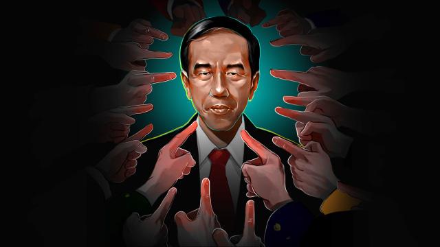 100 Hari Jokowi: Mencengkeram KPK