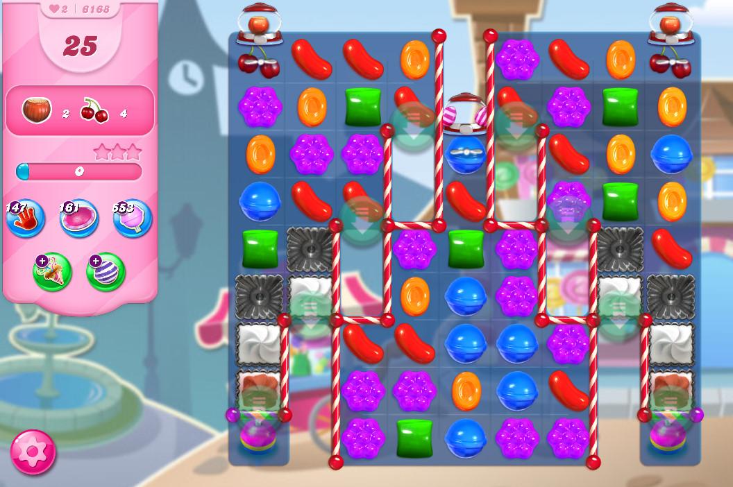 Candy Crush Saga level 6168
