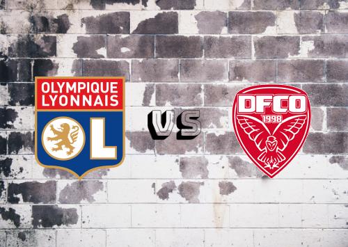 Olympique Lyonnais vs Dijon FCO  Resumen