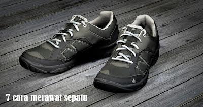 7 Cara merawat Sepatu dengan mudah agar awet