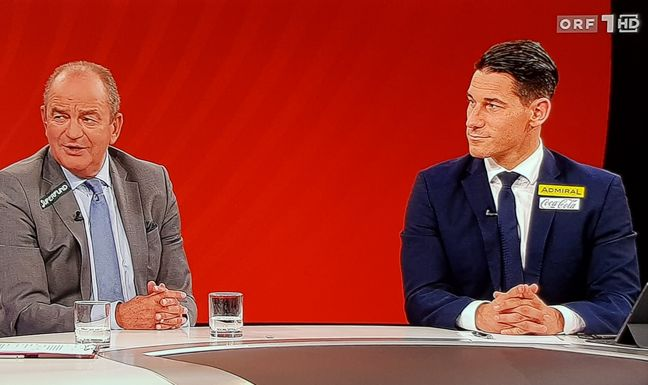 Swiss Lupe News Zugekleisterte Kommentatoren Orf Baut