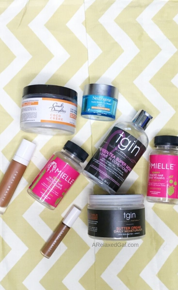 My Relaxed Hair & Beauty Empties for Summer 2020 | A Relaxed Gal