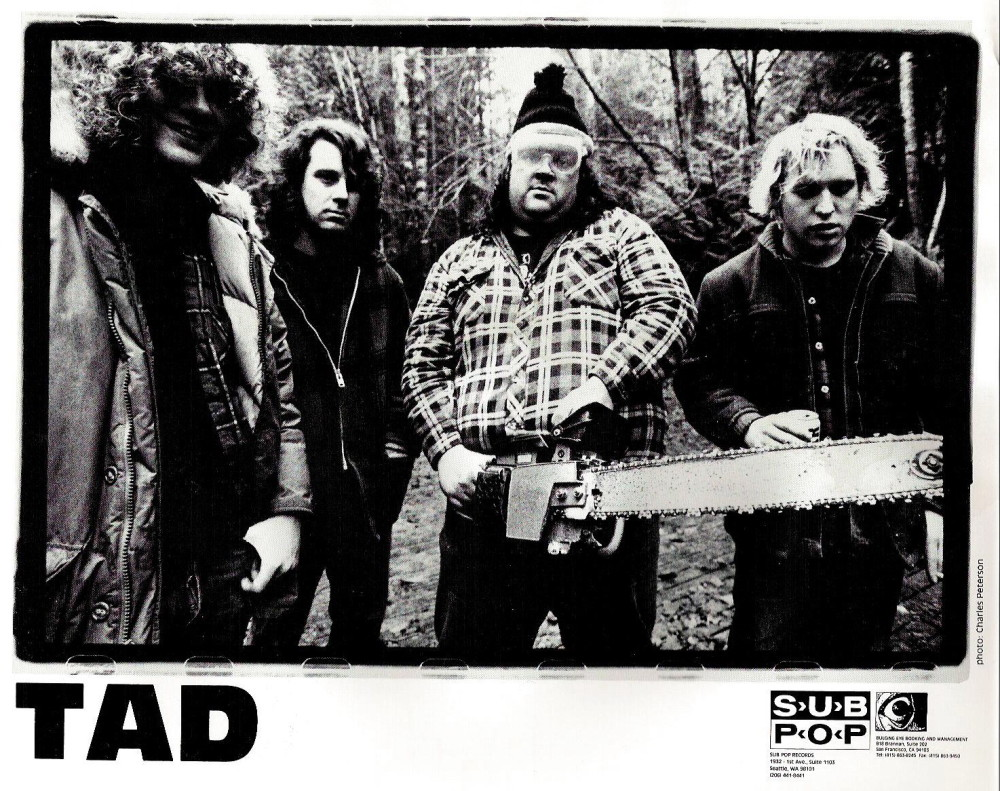 Alienated In Vancouver Tad Doyle Tad And Brothers Of