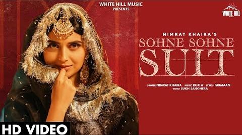 Sohne Sohne Suit Lyrics- Nimrat Khaira