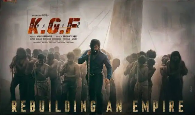 KGF Chapter 2 movie download in Hindi