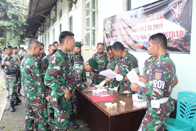 Gerakan Lawan Narkoba di Magelang, Yonarmed 11 Kostrad Gelar P4GN