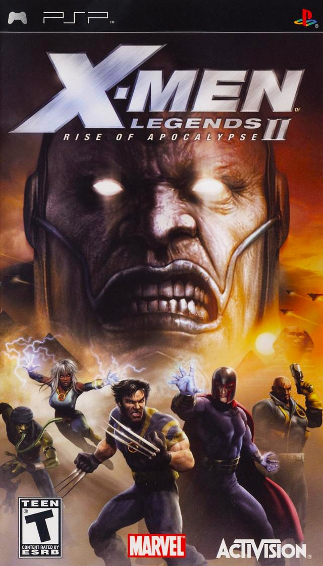 X-Men Legends II - Rise of Apocalypse (PSP ISO)