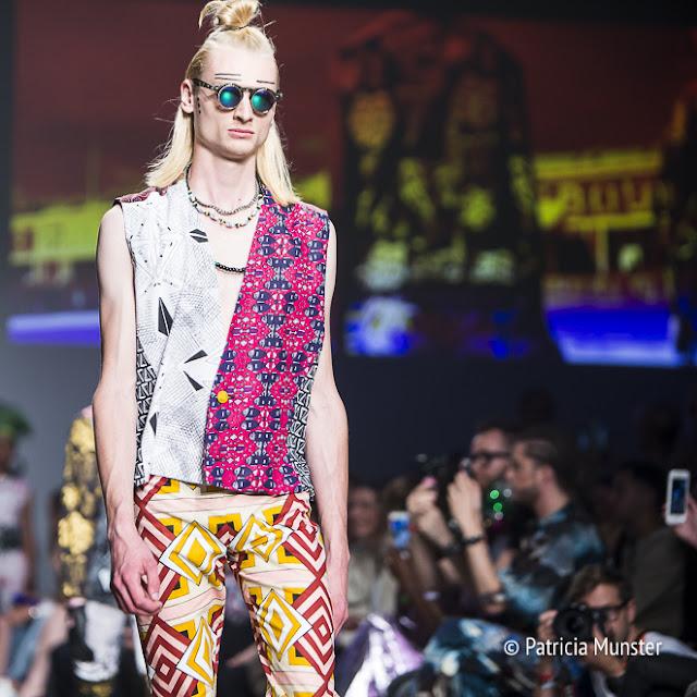 Sophia Bentoh at Amsterdam Fashion Week SS2018  menswear