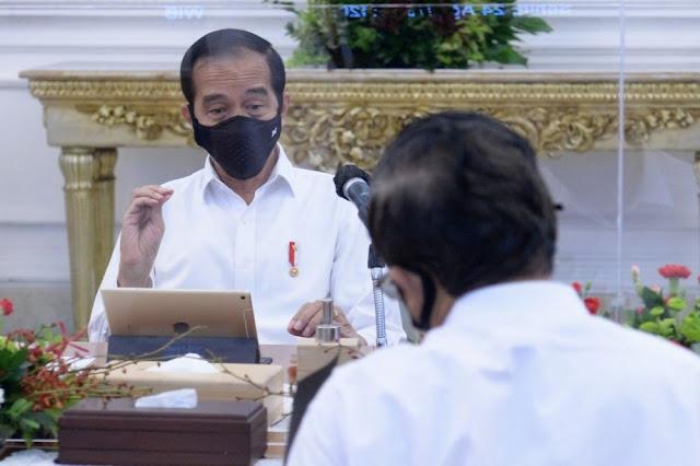Jokowi Kesal Menterinya Kerap Asal Bicara soal COVID-19