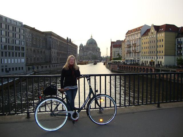 Pyöräily Berliinissä