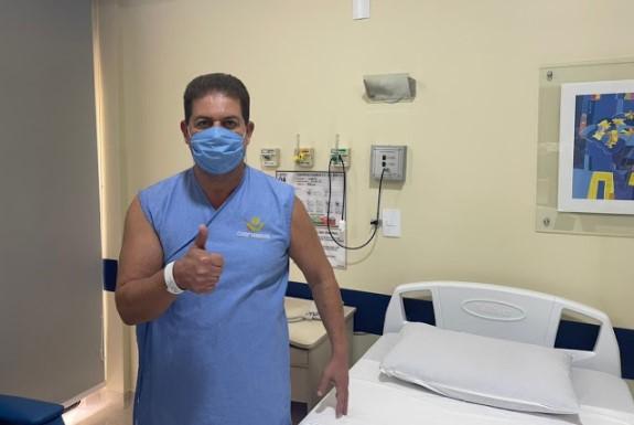 Laranjeiras: Prefeito Berto Silva passa por cirurgia em Cascavel
