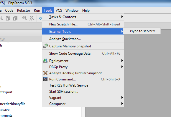 Syncing local code base to dev servers with Netbeans, Eclipse and
