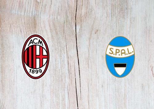Milan vs SPAL Full Match & Highlights 15 January 2020