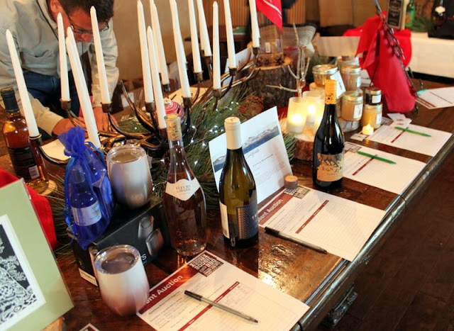 The Wine & Wagyu dinner features a silent auction.