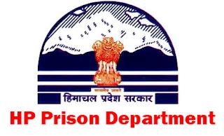 HP Prison Department Recruitment 2018