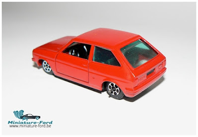 Guiloy Toys, Ford Fiesta red