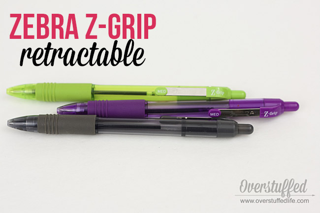 Z-grip | pens to use with paper planners