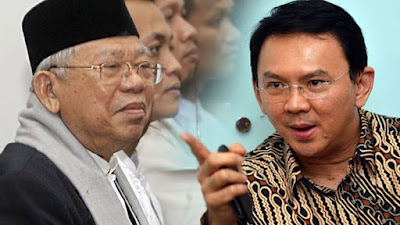 Ahok Ucapkan Selamat ke Jokowi-Ma'ruf