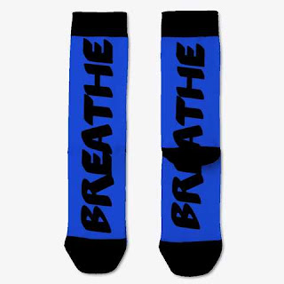 Breathe Socks Blue