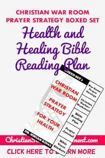 Health and Healing Bible Reading Plan
