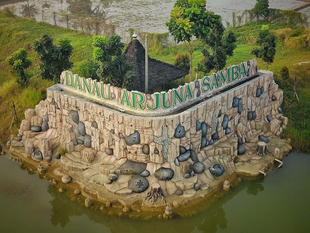 danau arjuna samba