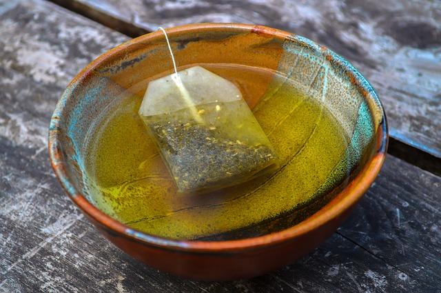فوائد الشاي الاخضر للوجه