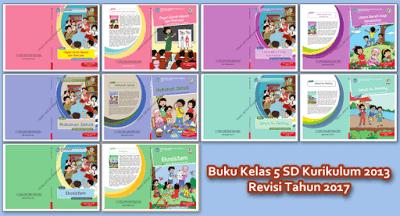 Buku Kurikulum 2013 Kelas 5 Tema Organ Gerak Hewan dan Manusia Revisi 2017