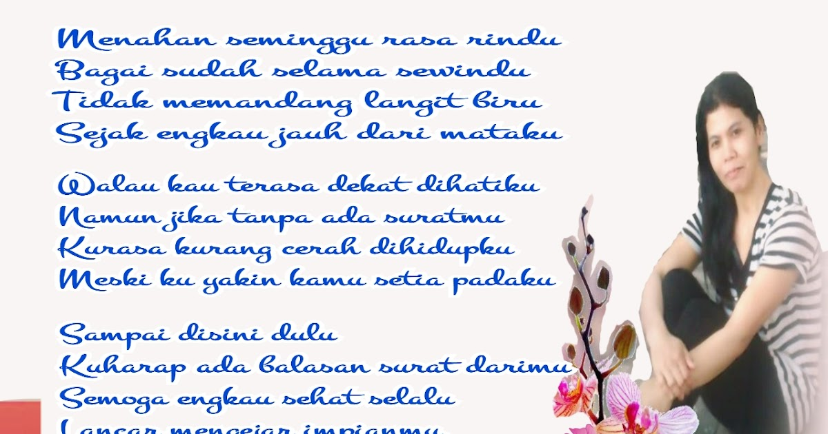 contoh surat cinta singkat untuk suami surat 35