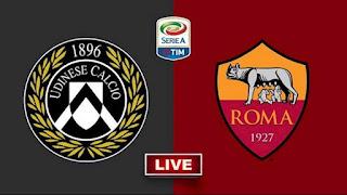 موعد مباراة روما وأودينيزي في الدوري الإيطالي والقنوات الناقلة