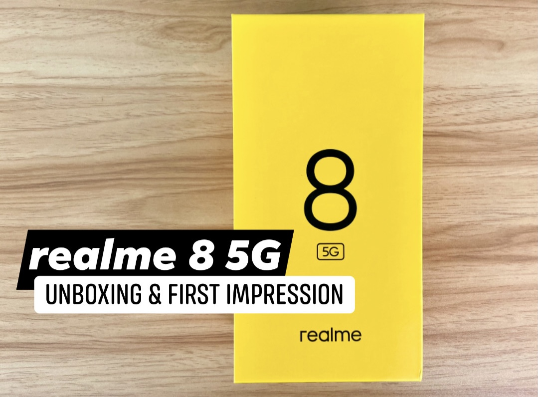 realme 8 5G Unboxing and First Impression
