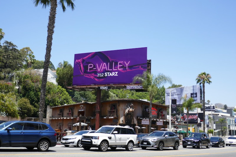 PValley Starz series billboard