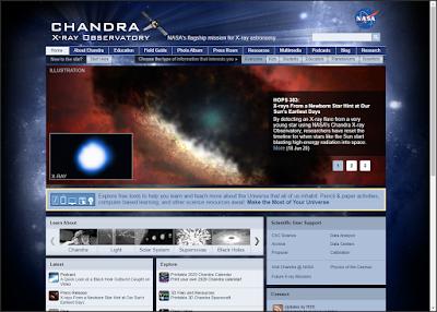 موقع Chandra X-ray