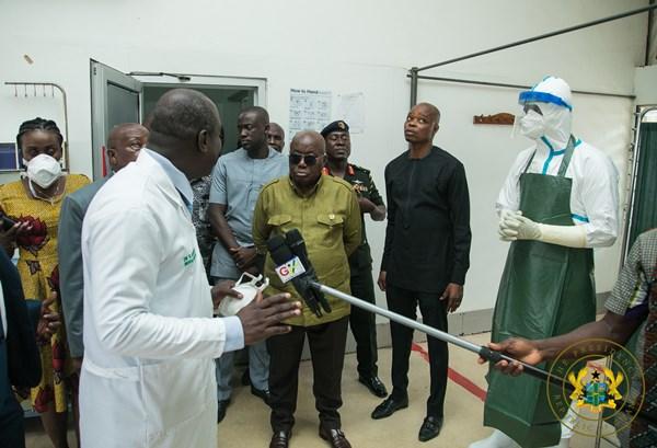 President Akufo-Addo Satisfied With Ghana's Measures To Deal With Coronavirus Disease