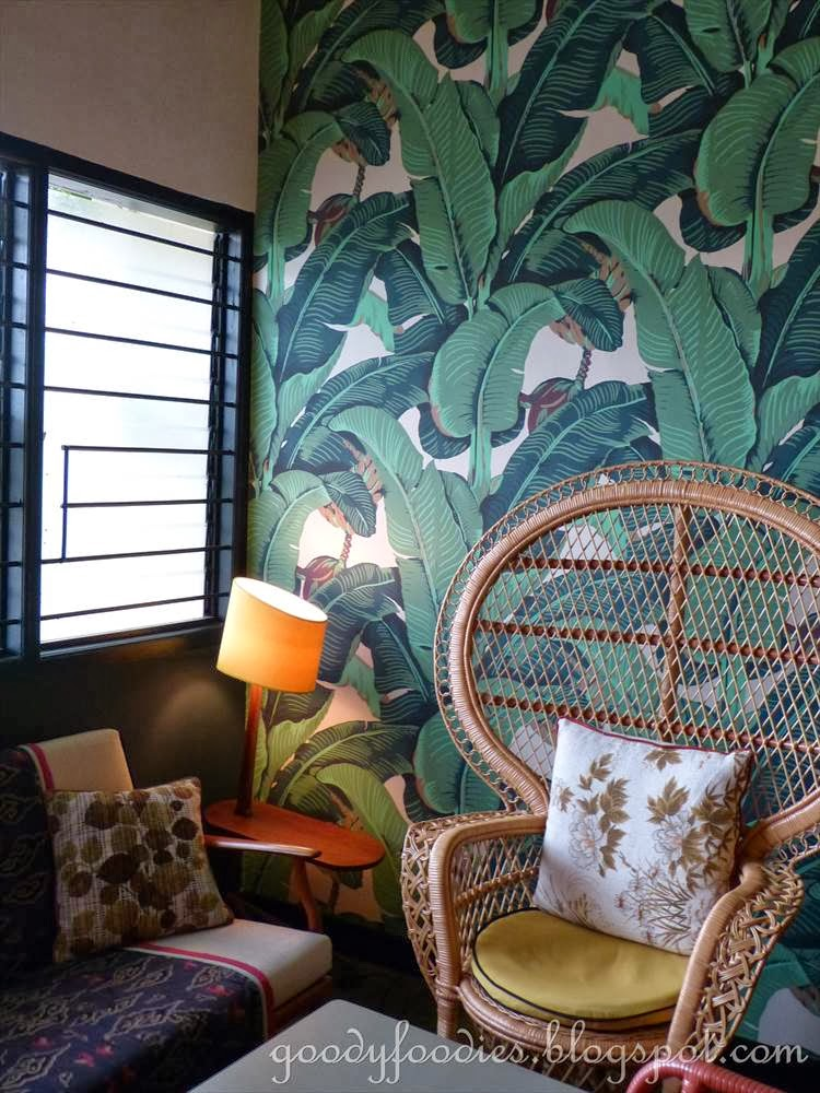 Lemon Tropics Kitchen Paint