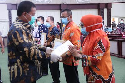 Pemprov Lampung Salurkan Bantuan APD
