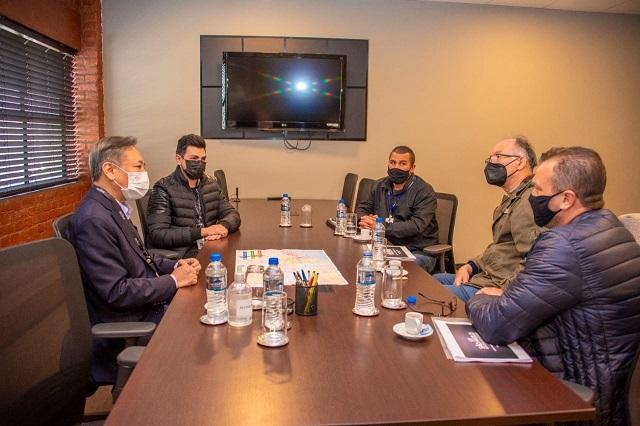 Vereador Heitor Sansão e prefeito Nilton Hirota buscam a instalação de um Escritório Regional da Jucesp em Registro-SP
