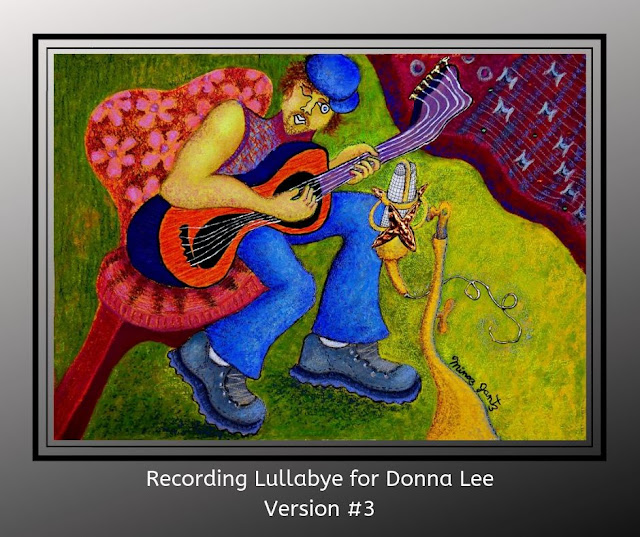 Recording Lullabye for Donna Lee Version 3 by Minaz Jantz