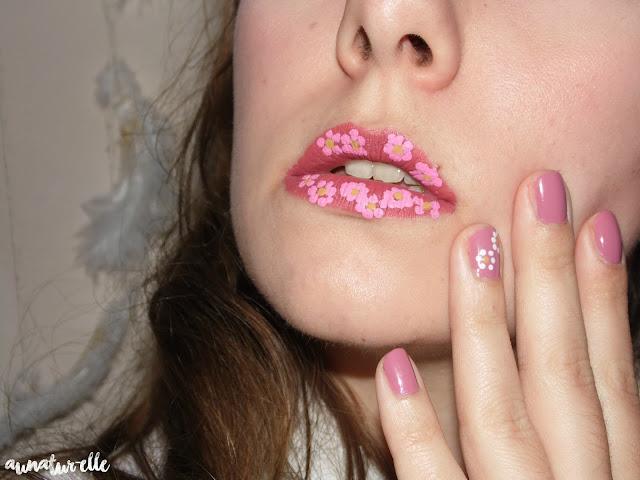 Monday Shadow Challenge - Marsala lips